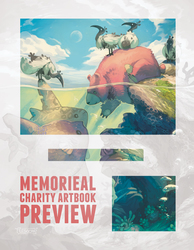 Memorieal Charity Artbook (preview!)