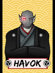 Vancoufur 2014 badge - Havok