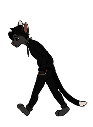Anthro Cat - Walk Cycle (Commission)