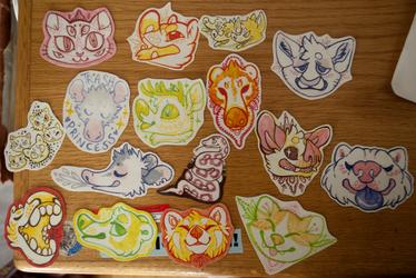 Anthrocon Stickers 1