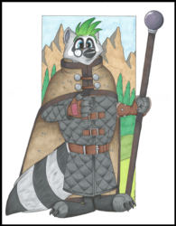 Cosu Bhalti, Raccoon Wizard