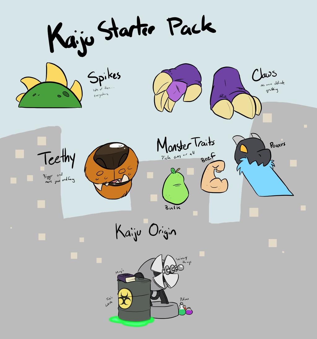 Kaiju Starter Pack