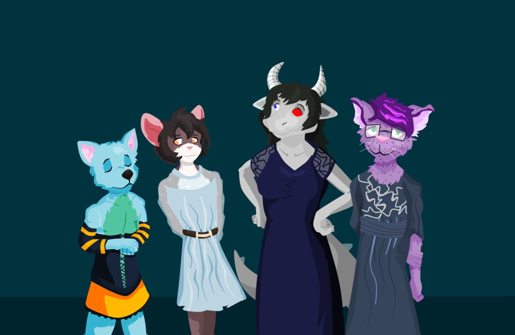 The (other) guys in dresses!