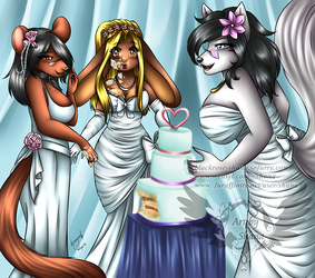 Attack of the Wedding Cake