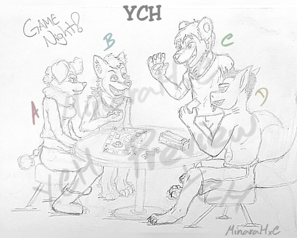 YCH - Game Night