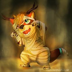 Halloween chibi sketch for lontramus