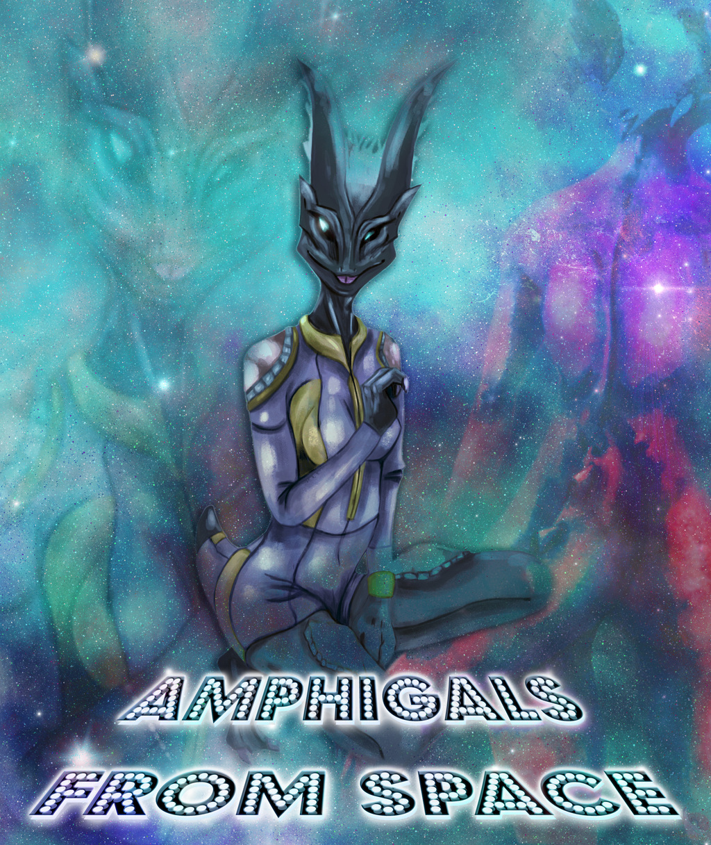 AmphiGals from Space