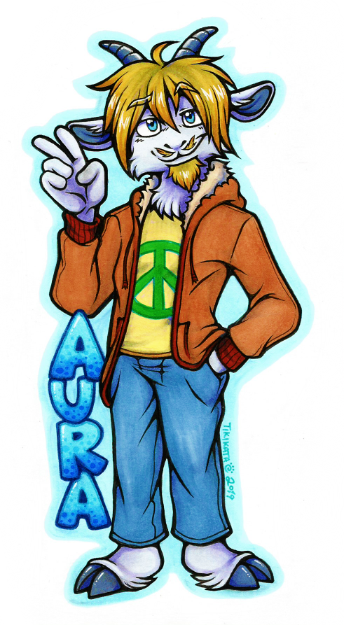Aura Badge (Commission)