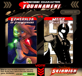 Webcomic Character Tournament Match 01