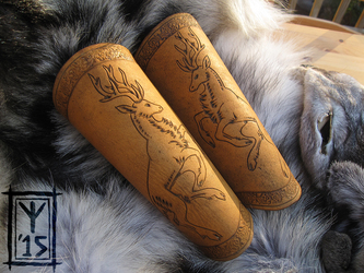 Stag Bracers