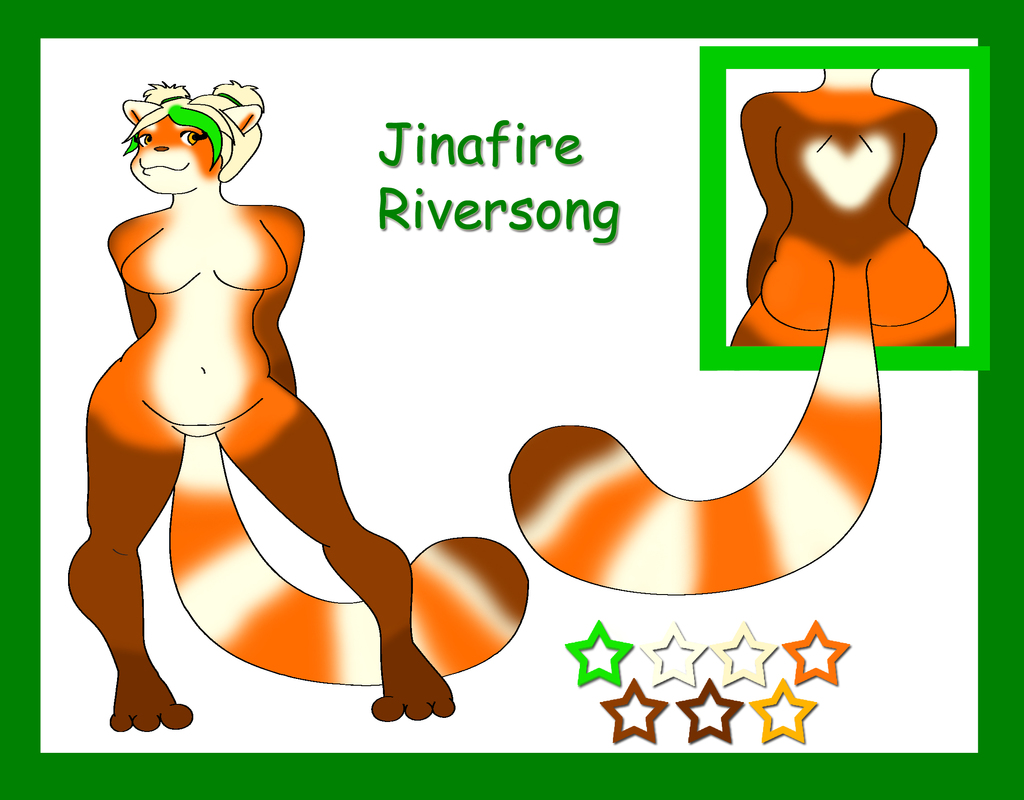 Jinafire Riversong Reference Sheet