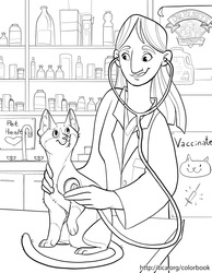 TICA Cat Coloring Book Page 9