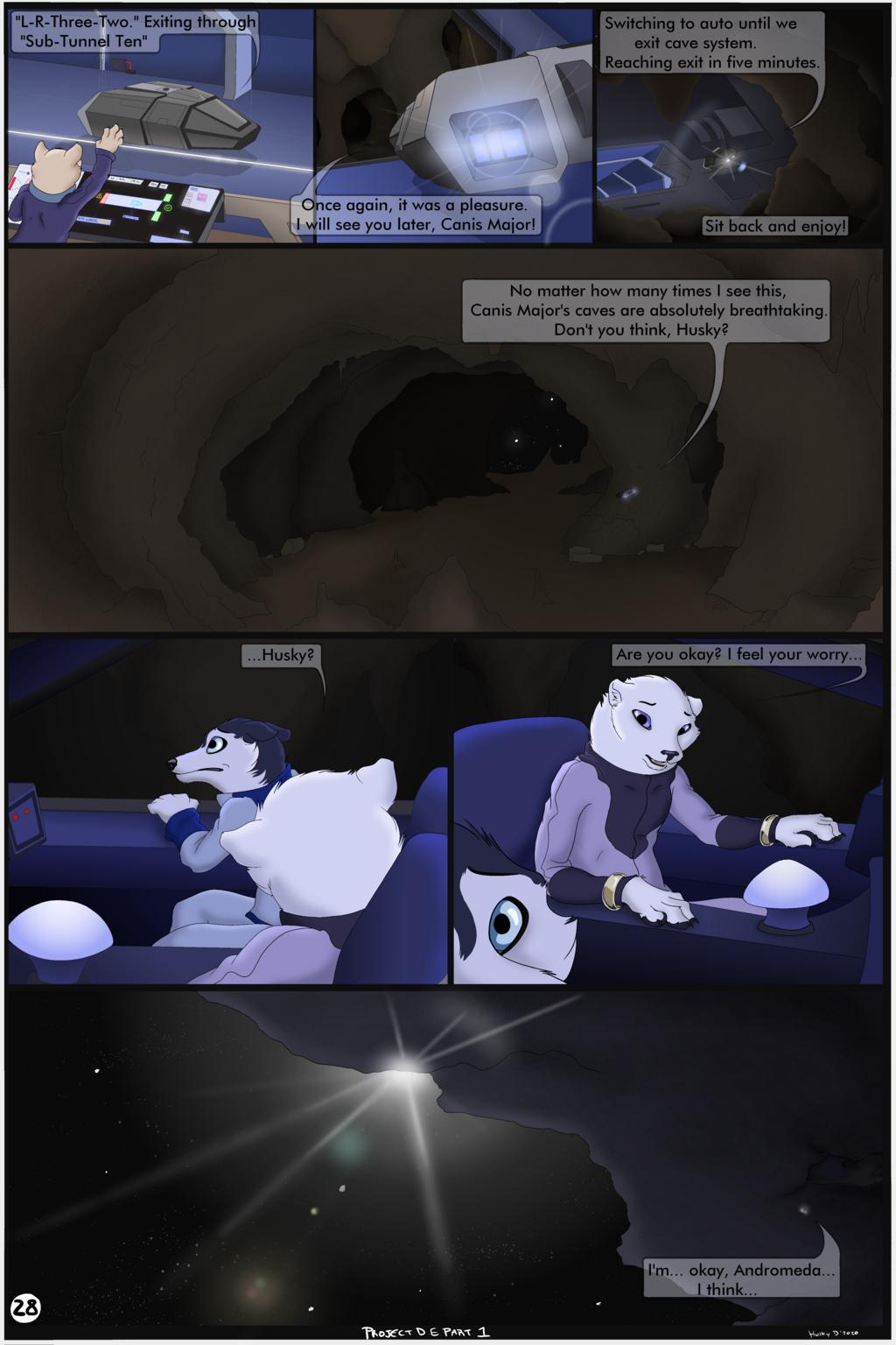 Project D.E -Comic part 1- (Page 28)