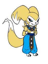 Reni dressup: Lord Beerus (Dragonball Super)