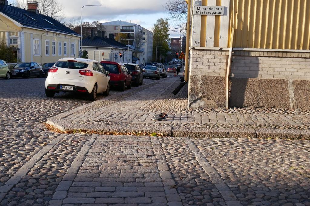 Vanished Pedestrian