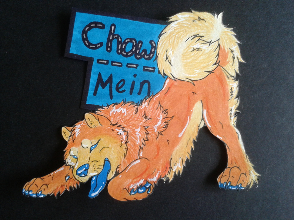 Most recent image: Chow Mein Feral Badge