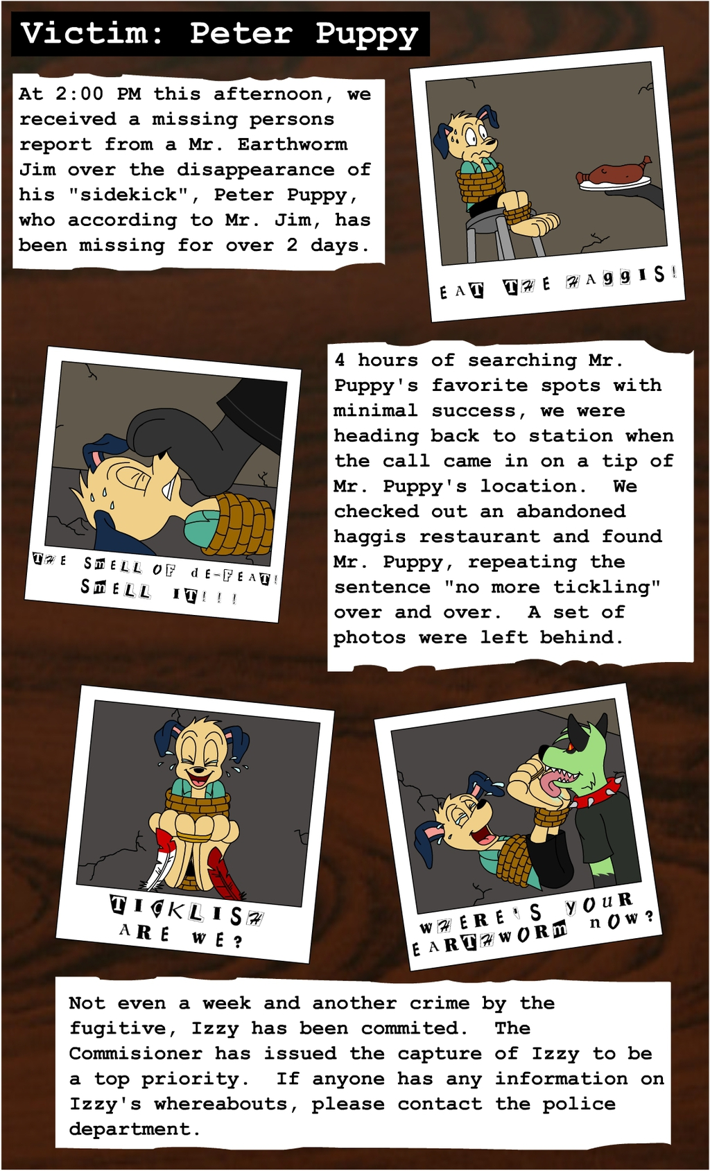 Victim 2: Peter Puppy