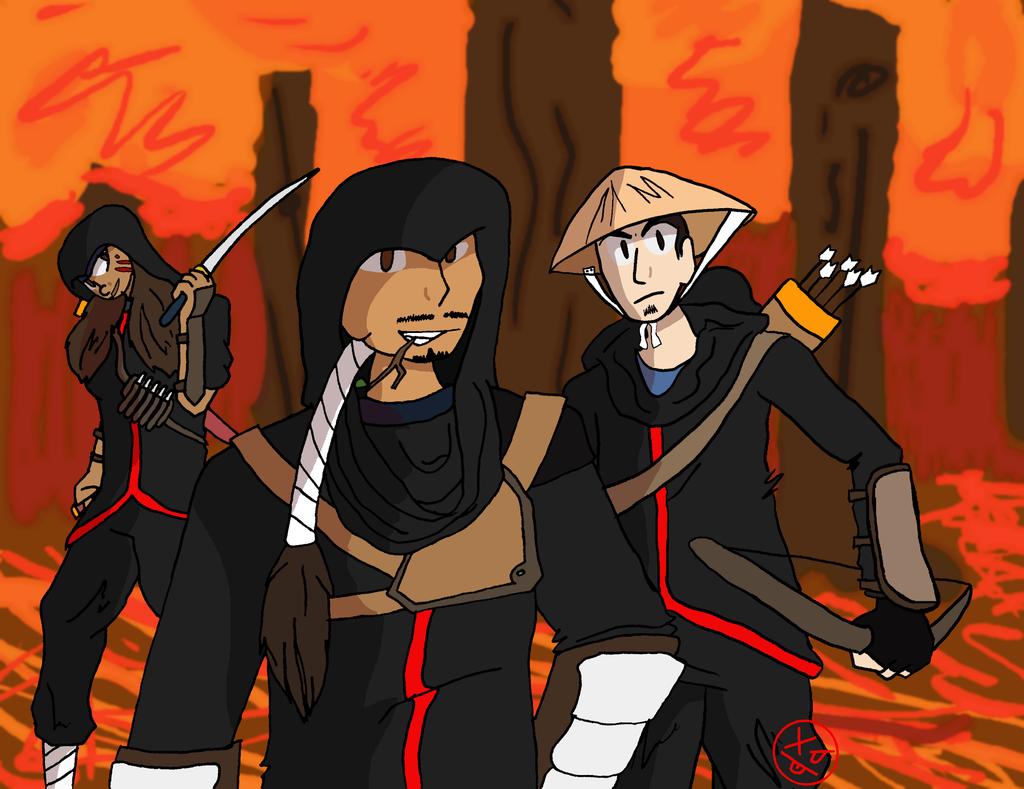 AtLA - Hong Ye Assassins