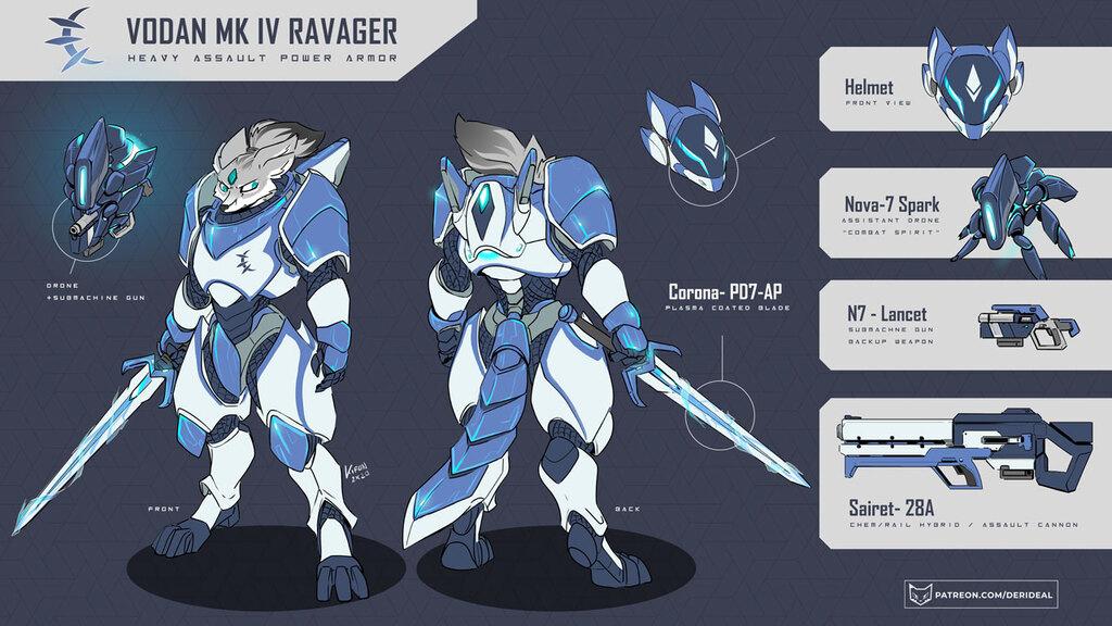 VODAN MK IV Ravager armor