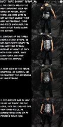 Official Mordrude's Monsters Duct Tape Dummy Tutorial
