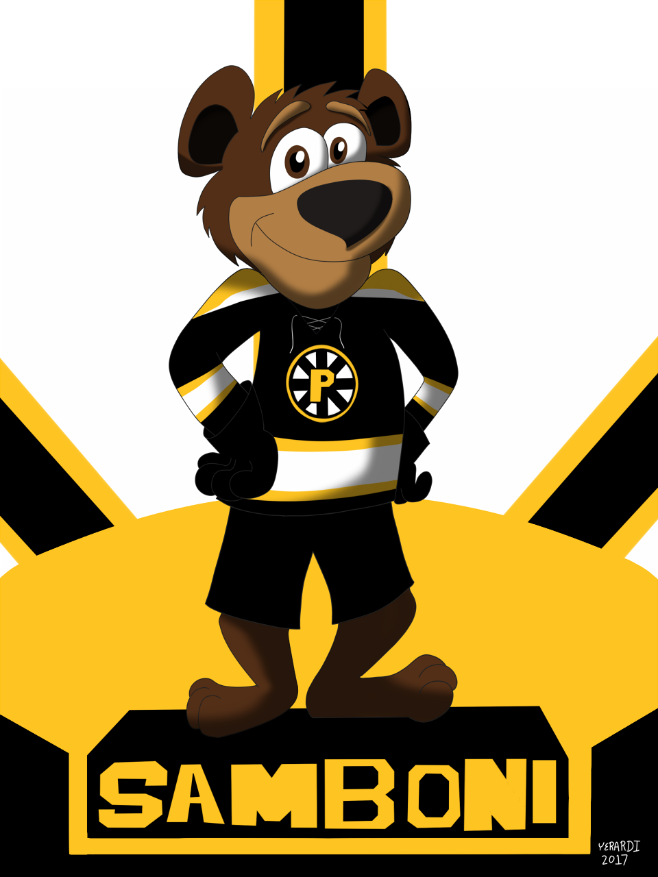 AHL MAX Series Number 01 of 30: Samboni - Providence Bruins