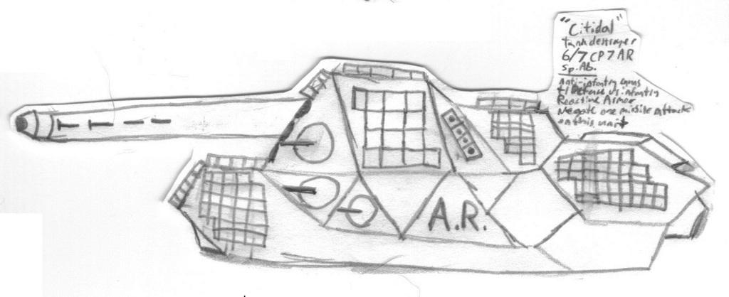"""MR Light Tank Destroyer """"Citidal"""""""