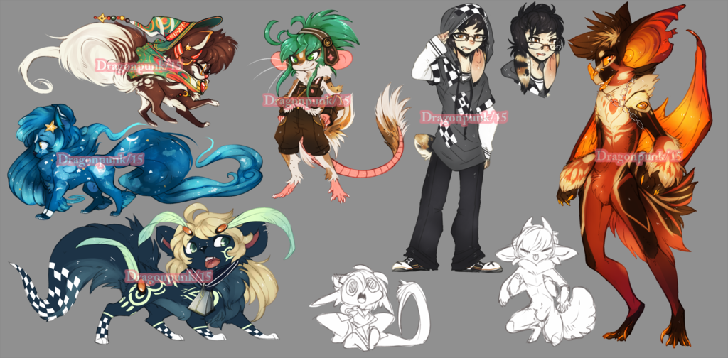 big batch of adopts finished