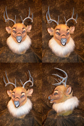 Hazen Deer Head