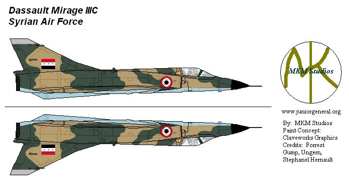 Syrian Mirage III