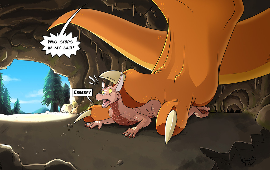 The (Big) Dragon's Lair by Nyhgault