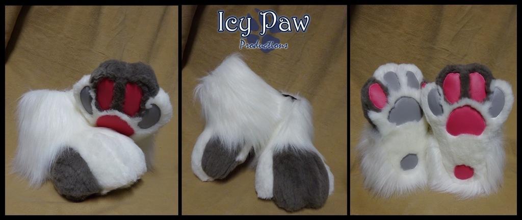 Snowface feet paws