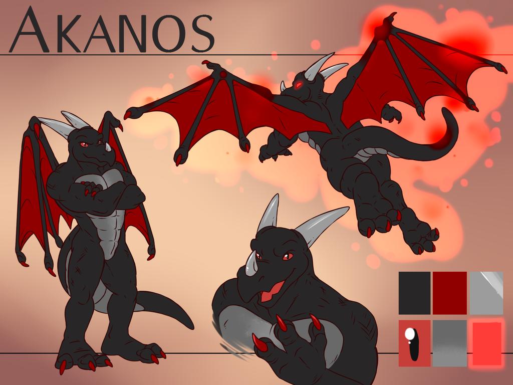 Akanos [Stream Commission - Ref Sheet]
