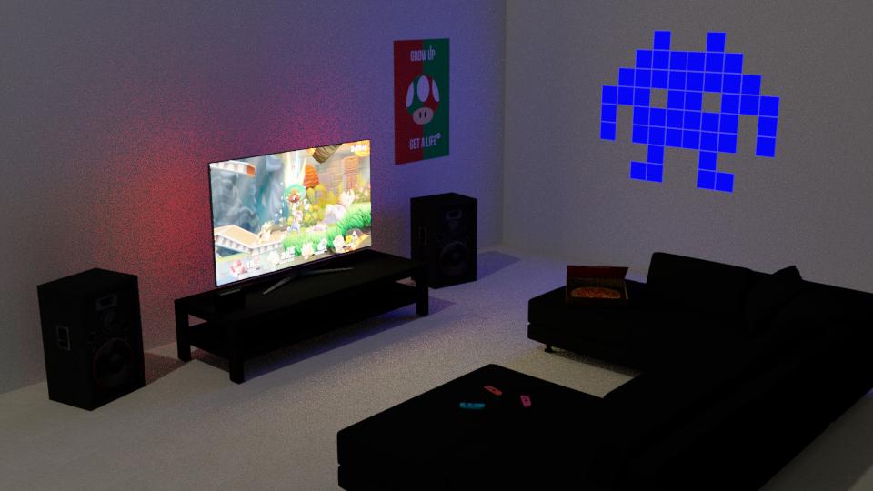 Rough Gaming Lounge...