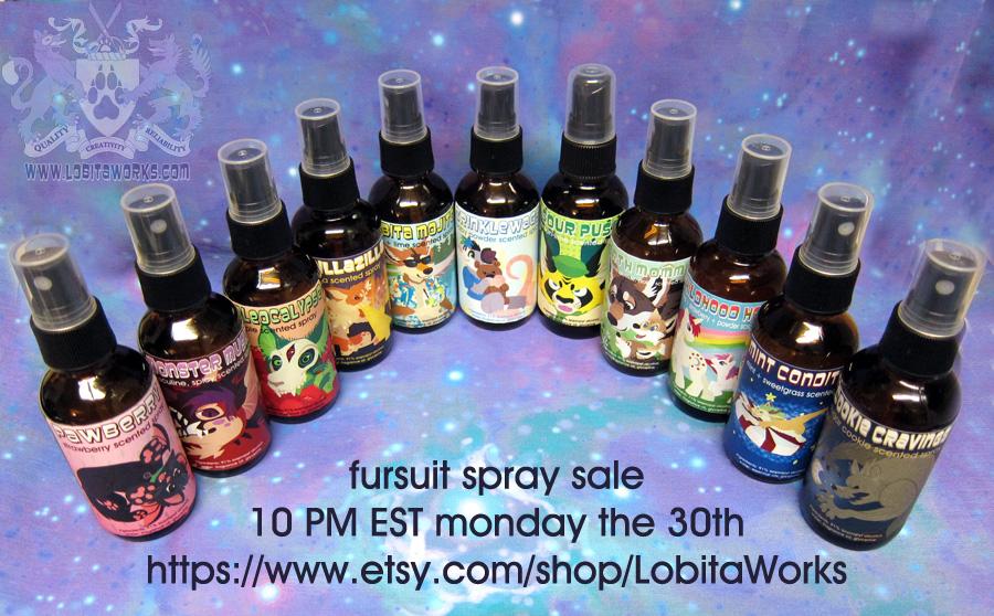 Fursuit Spray Sale TONIGHT