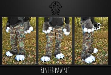 [//Commission] Reverb Paw Set
