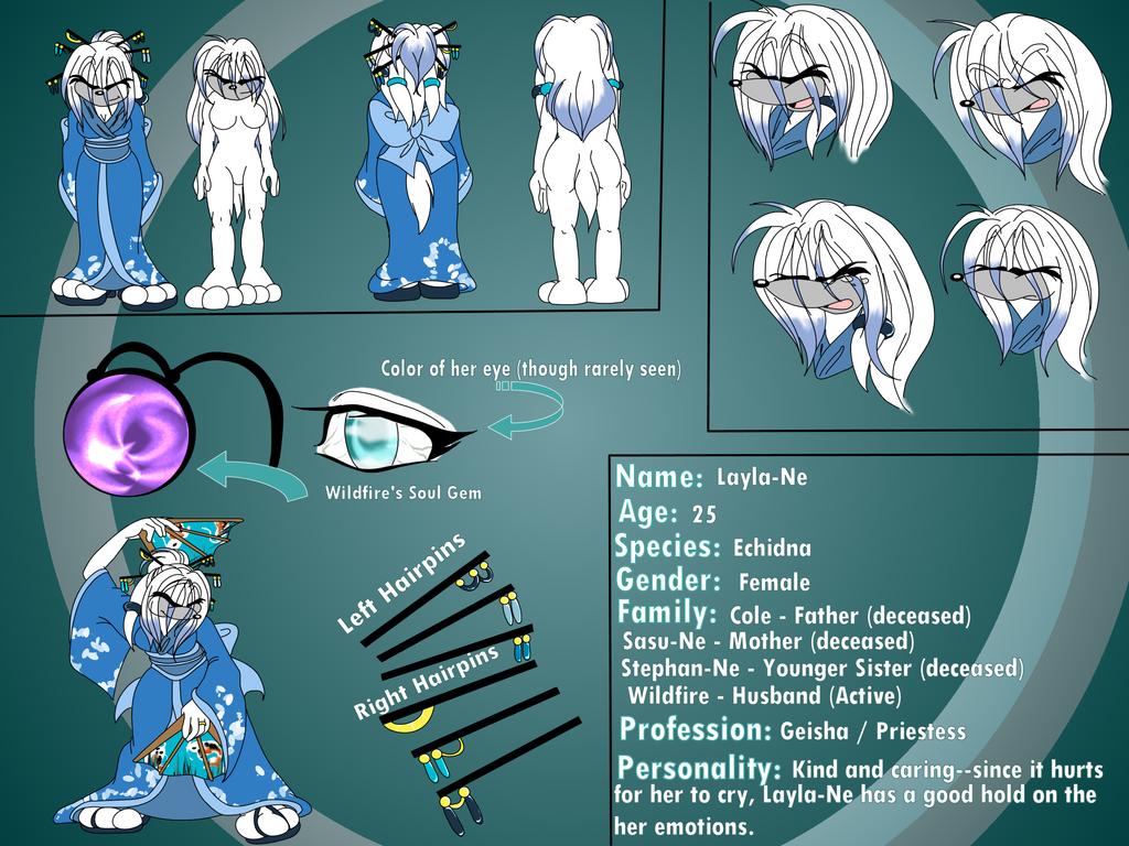 Layla-Ne Character Sheet
