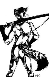 Nude Swordsman