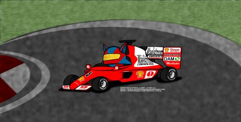 Artee in Singapore Formula One Grand Prix