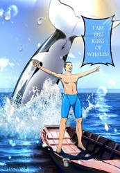 I am the King of the Whales SFW