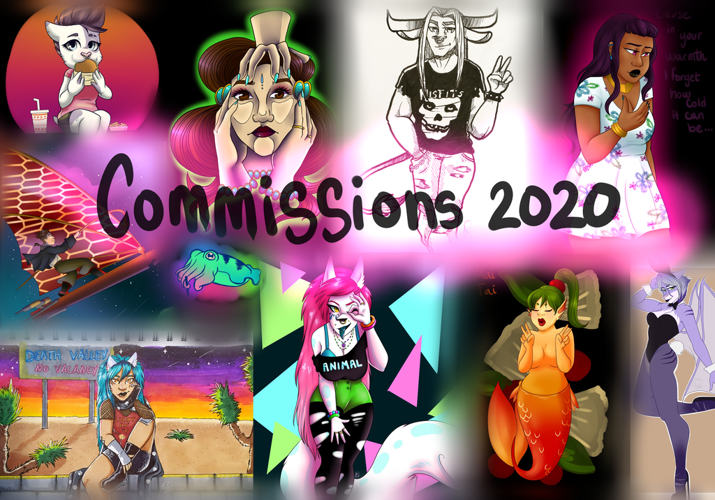 Most recent image: Commissions are OPEN!!