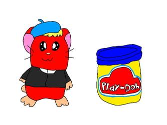 Play-Doh Pete Hamster