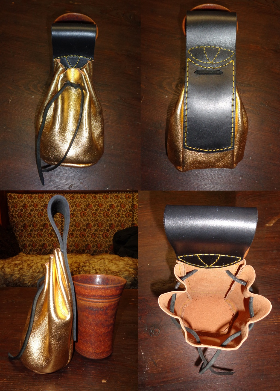 Medieval money bag for Microfan (V1)