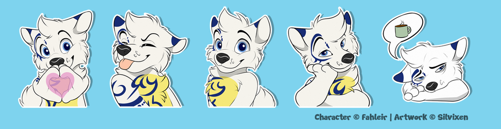 Most recent image: Ulric Character Pack - Stickers