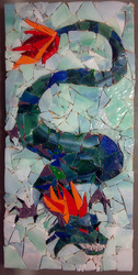 Dragon Mosaic WIP