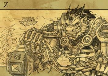 Zerkkan Fantasy Armor Commision