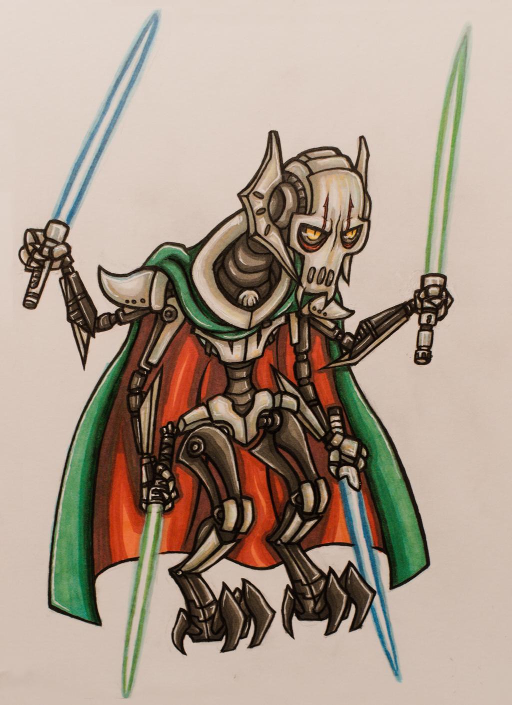 Chibi General Grievous