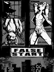 False Start-Issue #2 Cover