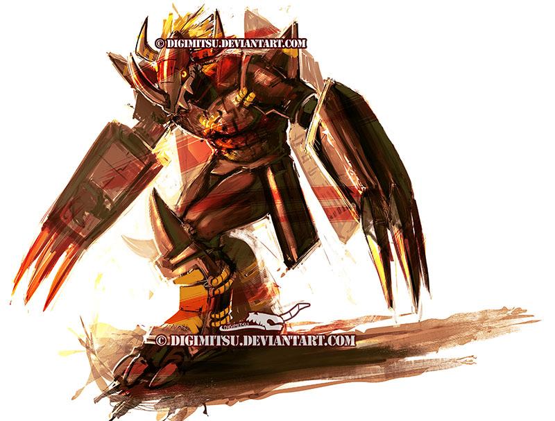 Digimon: Blackwargreymon