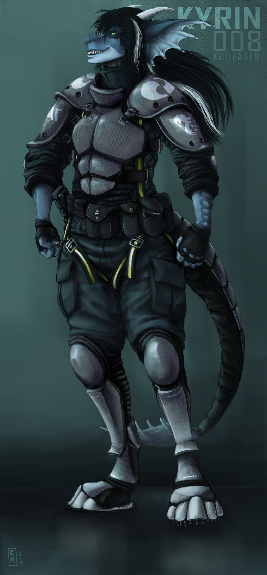 Most recent image: Commission: Kyrin