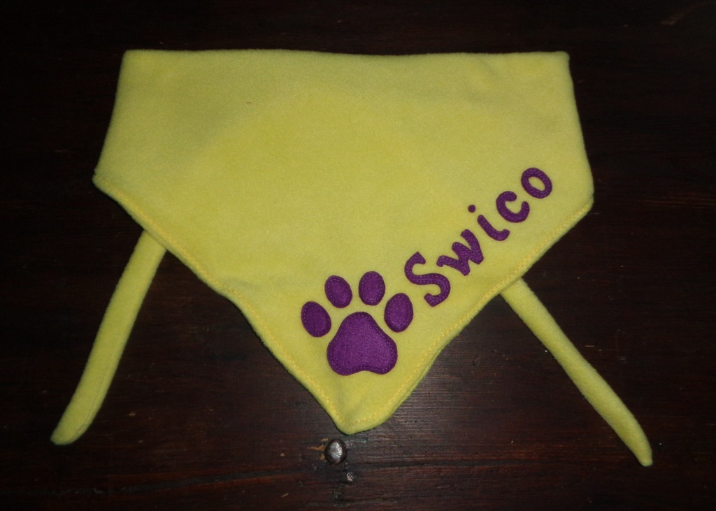 Most recent image: Fursuiter scarf for Swico Tary